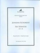 Six Sonatas, Op. 14 : For Pianoforte/Harpsichord / edited by Brian Mcdonagh.