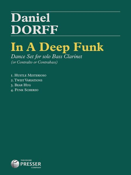In A Deep Funk : Dance Set For Solo Bass Clarinet (Or Contralto Or Contrabass).