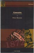 Concerto : For Flute and Orchestra.