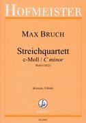 Streichquartett C-Moll, WoO (1852) / edited by Ulrike Kienzle and Christopher Fifield.