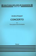 Concerto : For Percussion and Orchestra.