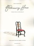 February House - Vocal Selections : For Piano-Vocal-Guitar/Banjo.