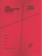 Two Character Pieces : For Solo Tuba (1999).