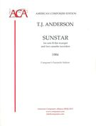 Sunstar : For Solo B Flat Trumpet and Two Cassette Recorders (1984).