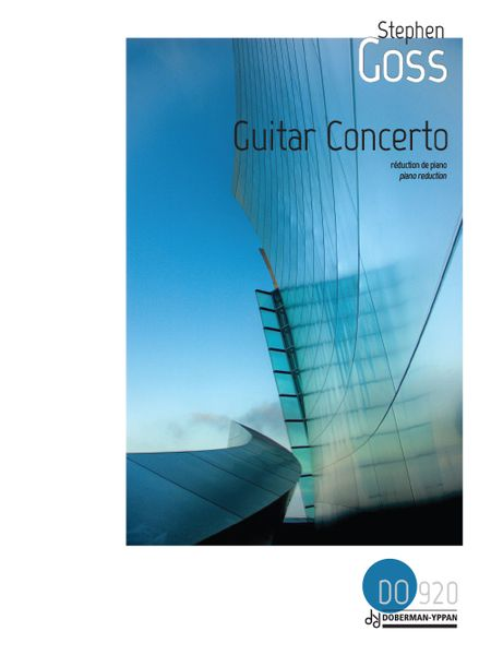 Guitar Concerto (2012) : reduction For Guitar and Piano.