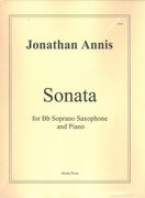 Sonata : For B Flat Soprano Saxophone and Piano.
