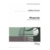 Rhapsody : For Oboe and String Orchestra (1946) - Edition For Oboe and Piano.