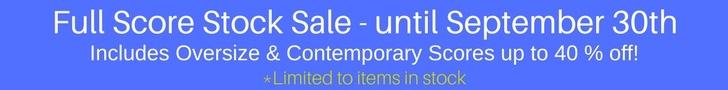 Full Scores Sale