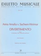 Divertimento In B-Flat Major : For Clarinet, Viola, Violoncello and Piano / edited by Horst Heussner