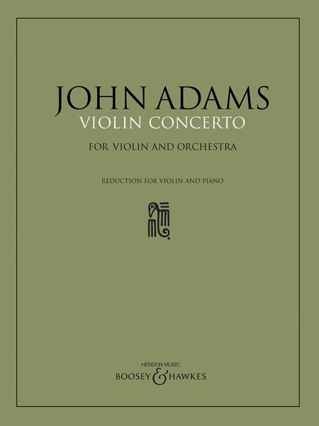 Violin Concerto : For Violin and Piano (1993).