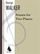 Sonata : For Two Pianos (1975).