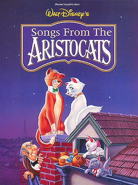 Aristocats : Walt Disney's Songs From The Animated Movie.