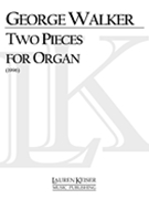 Two Pieces For Organ (1996).