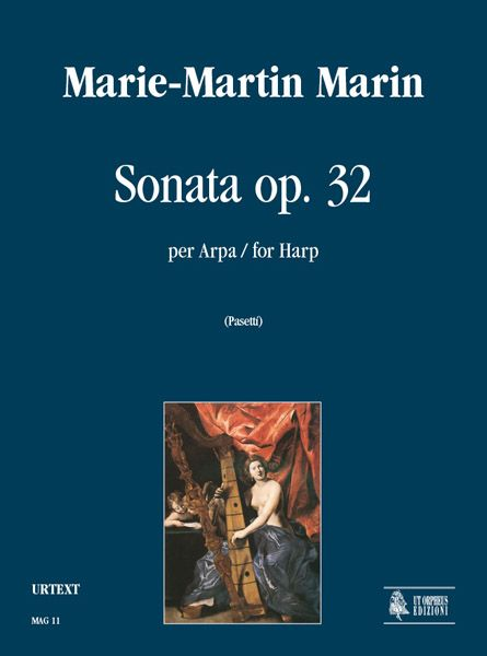 Sonata, Op. 32 In C Major : For Harp / edited by Anna Pasetti.