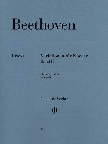 Variations, Vol. 2 : For Piano.