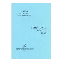 Symphony No. 10 In F Minor : Studiensymphonie (1863) / edited by by Leopold Nowak.