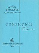 Symphony No. 10 In F Minor : Studiensymphonie (1863) / edited by Leopold Nowak.