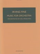 Music For Orchestra / transcribed For Orchestra by Joel Spiegelman From Music For Piano.