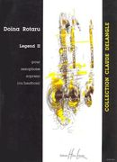 Legend 2 : For Saxophone Soprano (Or Hautbois).