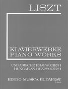 Hungarian Rhapsodies, Book 1 : For Piano.