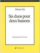 Six Duos : For Two Bassoons / edited by Harold E. Griswold.