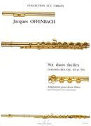 Six Duos Faciles (From Op. 49 & 50) : For Two Flutes / Adaptation by Luc Urbain.