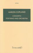 Concerto : For Piano and Orchestra.