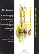 4e Solo De Concert, Op. 84; 6e Solo De Concert, Op. 92 : For Tenor Saxophone and Piano.