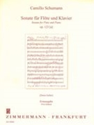 Sonata, Op. 123a : For Flute and Piano / First Edition, edited by Doris Geller.