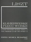 Piano Versions Of His Own Works, Book 2 : For Piano.