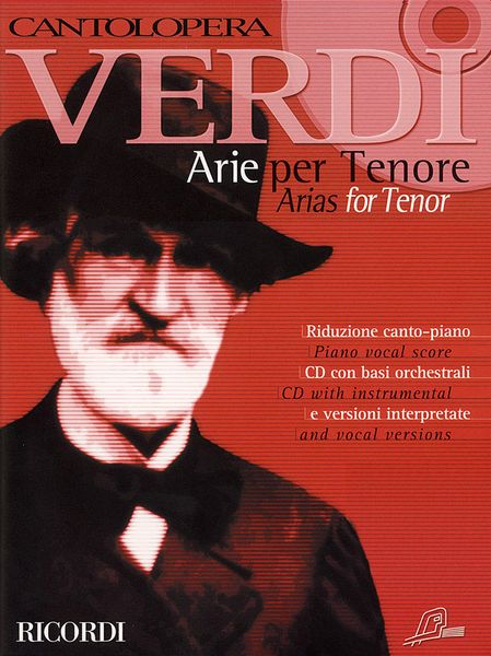 Arie Per Tenore : Piano Vocal Score and CD With Instrumental and Vocal Versions.