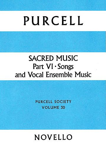 Sacred Music, Part 6 : Songs And Vocal Ensemble Music.