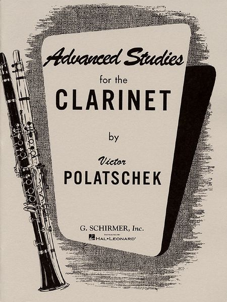 Advanced Studies : For The Clarinet.