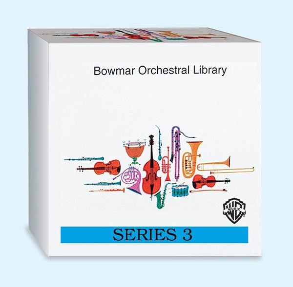 Bowmar Orchestral Library, Series 3: Boxed Set.