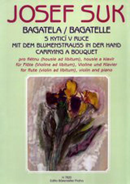 Bagatelle (Carrying A Bouquet) : For Flute, Violin and Piano.