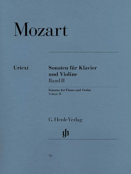 Violin Sonatas, Vol. 2 (Auerhammer Sonatas) : For Violin And Piano.