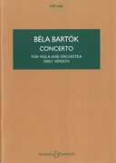 Concerto, Op. Posth. : For Viola and Orchestra [Study Score] / Completed by Tibor Serly.