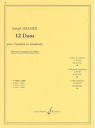 Twelve Duos For Oboes, Vol. 1.