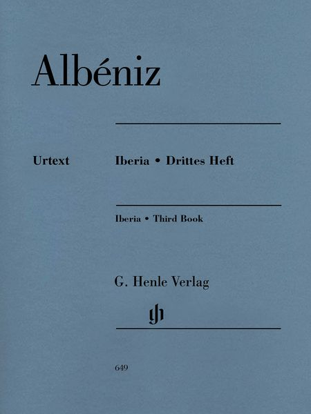 Iberia, Third Book : For Piano / edited by Norbert Gertsch.