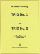 Trio No. 1 and Trio No. 2 : For Two Oboes and English Horn.