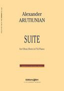 Suite : For Oboe, Horn In F and Piano.