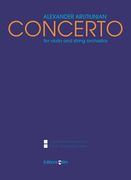 Concerto : For Violin and String Orchestra (1988).