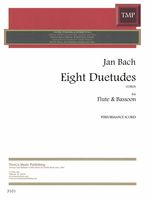 Eight Duetudes : For Flute and Bassoon (1983).
