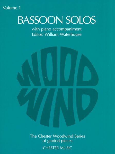 Bassoon Solos, Vol. 1 : With Piano Accompaniment / edited by William Waterhouse.