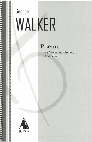 Poeme : For Violin and Orchestra.