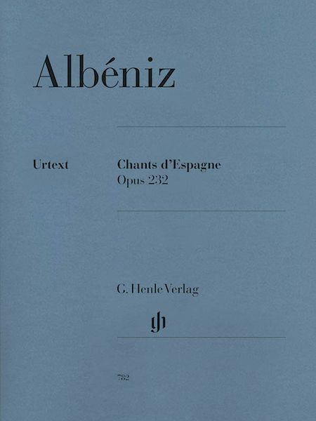 Chants d'Espagne, Op. 232 : For Piano / edited by Ulrich Scheideler.