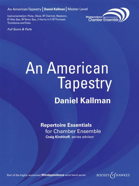 American Tapestry : A Setting Of Three American Folk Songs For Chamber Winds (2003).
