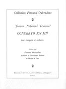 Concerto En Eb : For Trumpet and Piano / arranged by Fernand Oubradous