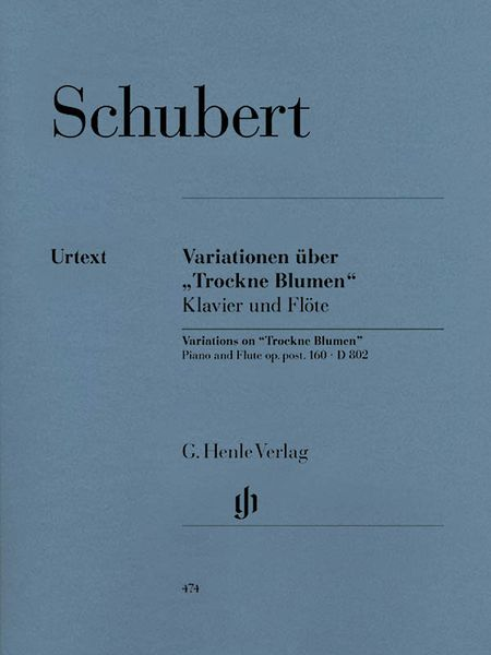 Variations On Dry Flowers Op. Posth. 160 : For Flute and Piano.