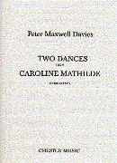 Two Dances From Caroline Mathilde : For Flute and Harp.